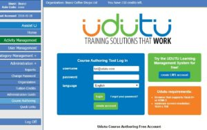Course Authoring Tab