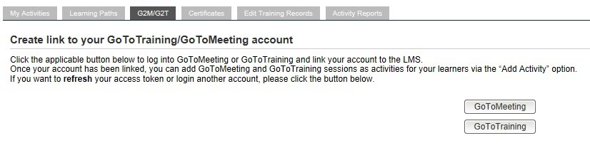 G2M / G2T: GoTo Meeting / GoTo Training Overview - Udutu