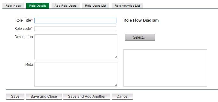 Role details