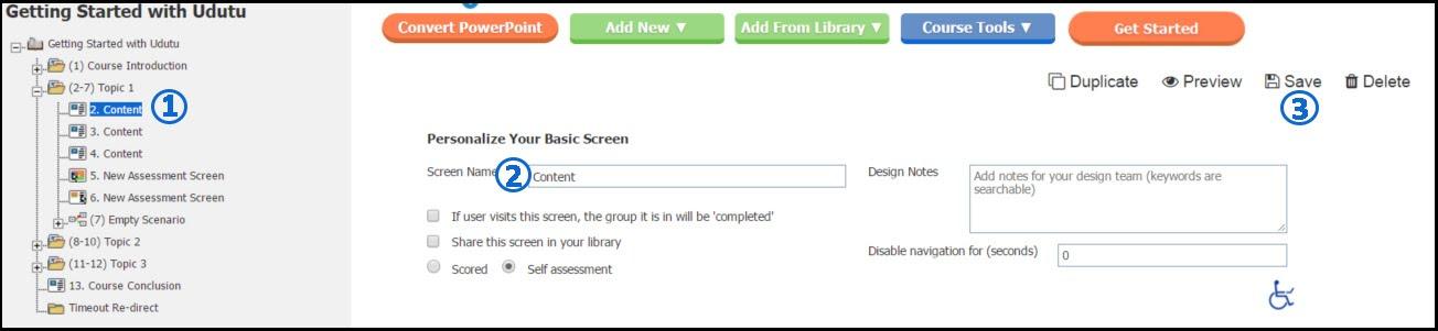 renaming a screen