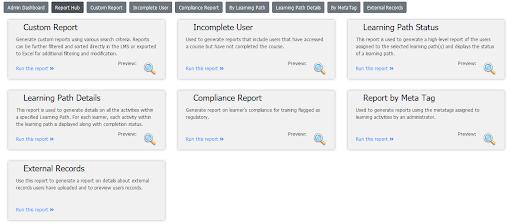 reports hub
